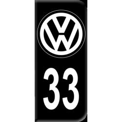 Sticker VW Département 33