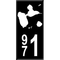 Sticker Département 971
