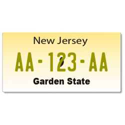Plaque US PLEXIGLAS® 175X100 mm - New Jersey