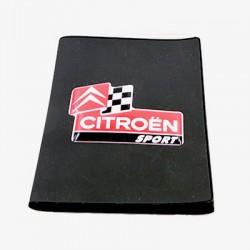 Porte-carte grise Citroen avec son logo en relief (3D)