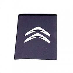 Porte-carte grise Citroën avec son logo en relief (3D)