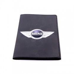 Porte-carte grise Mini avec son logo en relief (3D)