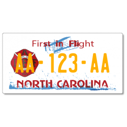 Plaque US PLEXIGLAS® 300x150mm - North Carolina